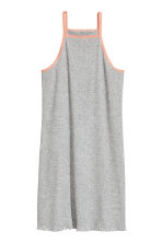 Ribbed nightslip - Grey marl - Ladies | H&M 2